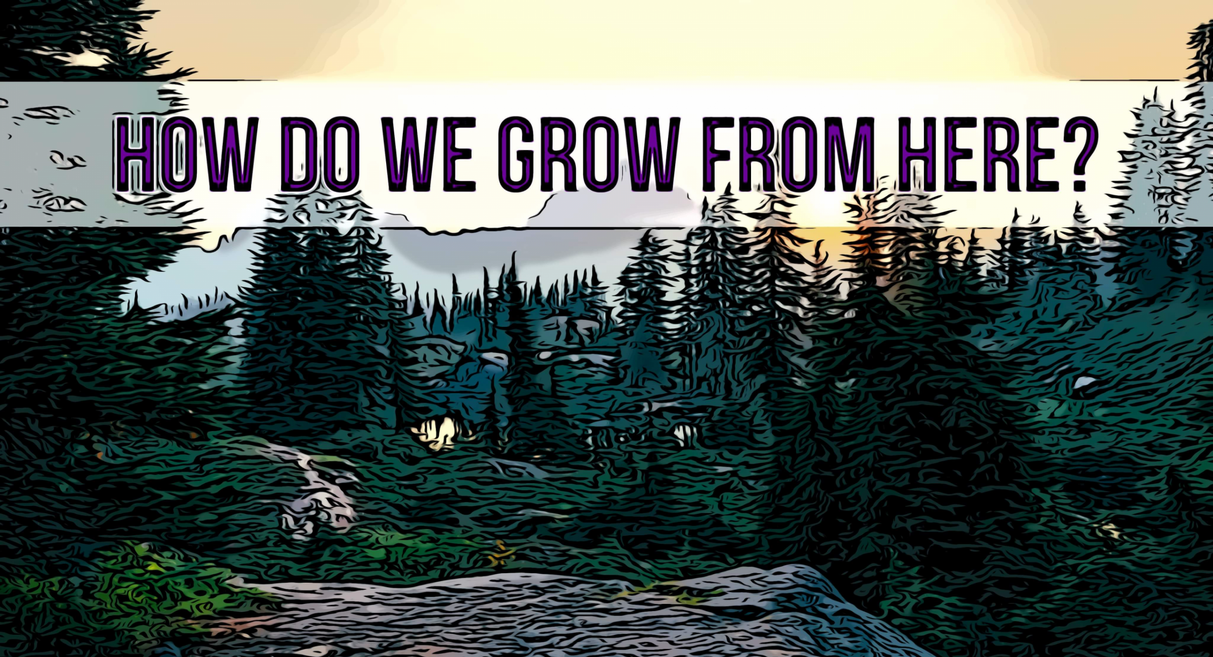 How Do We Grow From Here?